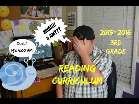 Reading Homeschool Curriculum 3rd Grade Youtube