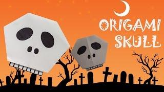 Origami Skull - Origami Easy