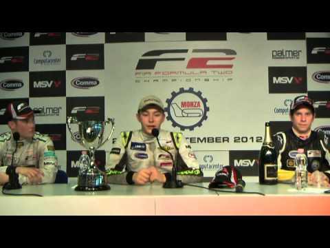 2012 F2 - Press Conference, Monza, R1
