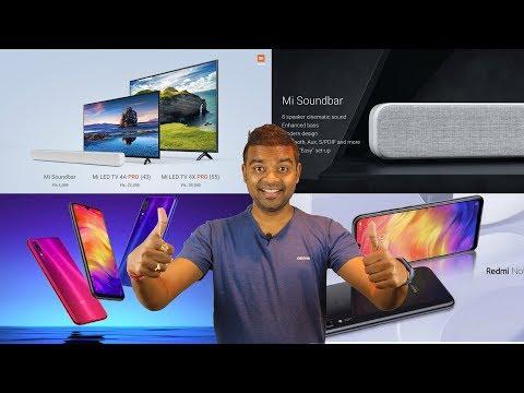 48MP Redmi Note 7 , Jio Kumbh Mela, Xiaomi Sound Bar, Xiaomi new TV, Tech Prime #220 - 동영상