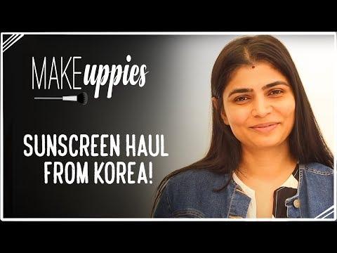 Sunscreen Haul from Korea!