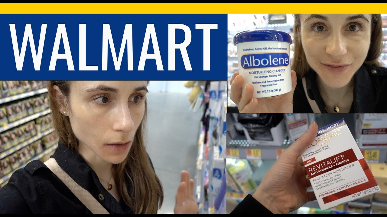 SHOP WITH ME FOR SKIN CARE AT WALMART| DR DRAY