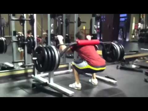 Merveilleux 505 For Reps On Safety Squat Bar   YouTube