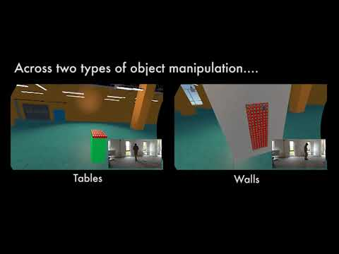Object Manipulation in Virtual Reality Under Increasing