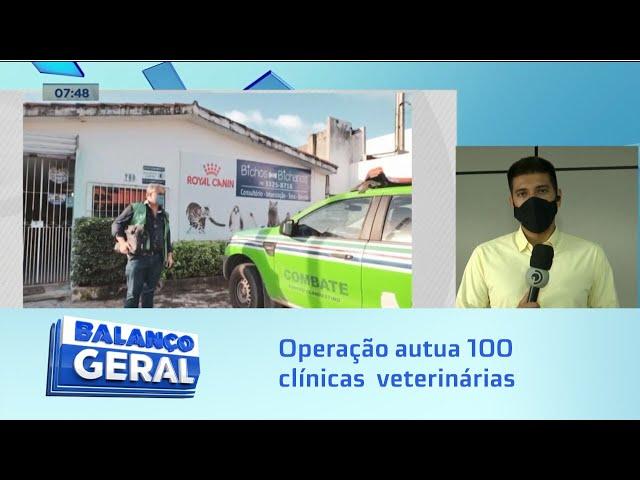 Irregularidades: Operação autua 100 clinicas  veterinárias