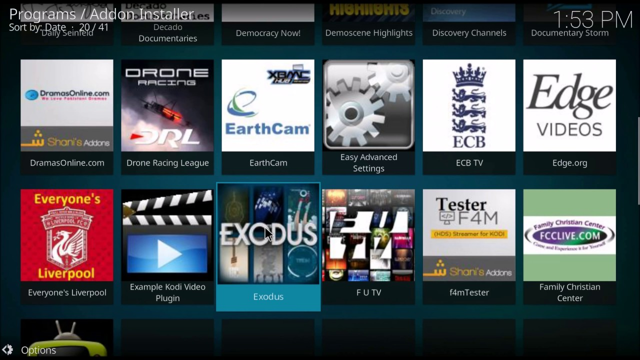 how to add 1channel to kodi windows 10