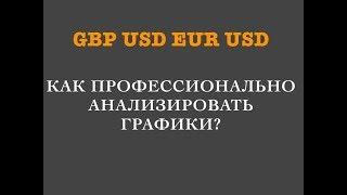 GBPUSD EURUSD:как профессионально анализировать графики?