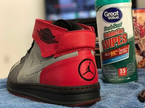 CLEANING AIR JORDAN SHOES & MAKING MONEY RESELLING