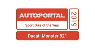 Sport Bike of the Year – Ducati Monster 821