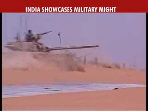Indian Army & IAF showcase might in wargames