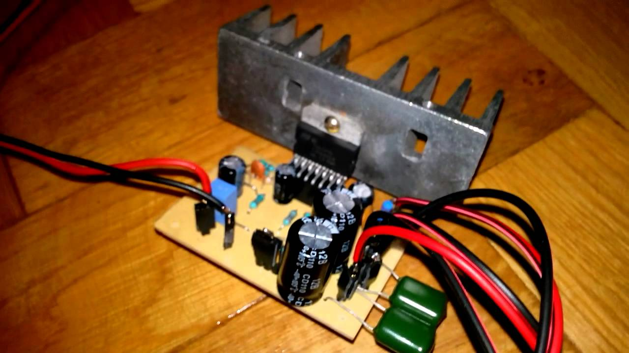 TDA7294 100W Audio Power Amplifier (Mono)  YouTube