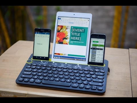 Tinhte.vn – Trên tay bàn phím bluetooth đa nền tảng Logitech K480