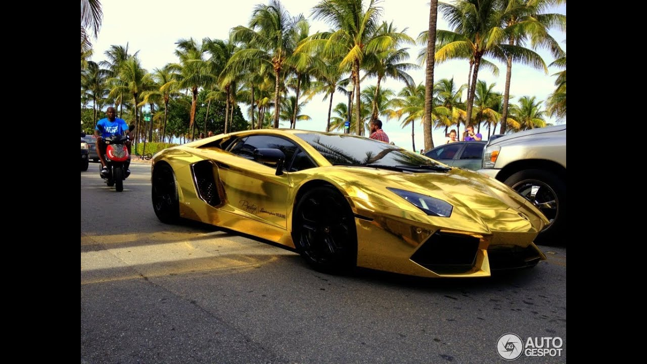Lamborghini Aventador TOP 10 Best Tuning