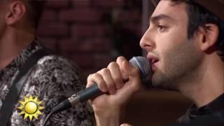 """Artisten Darin framför låten """"Juliet"""" - Nyhetsmorgon (TV4)"""