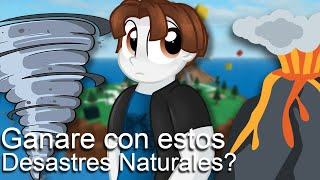 DISASTER NATURAL IN ROBLOX BEBECRIFT