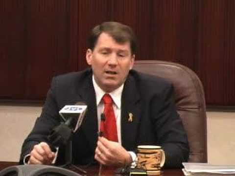 Gov. Mike Rounds on 2007 abortion ban bill