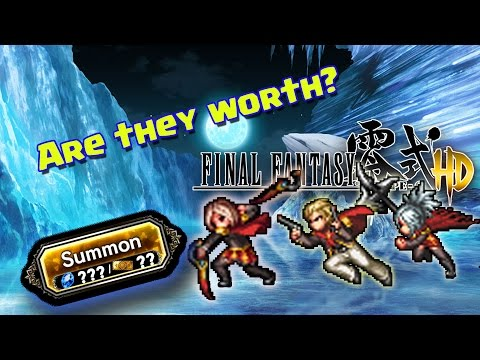 Final Fantasy Brave Exvius - Final Fantasy Type 0 Part 3 Banner Review