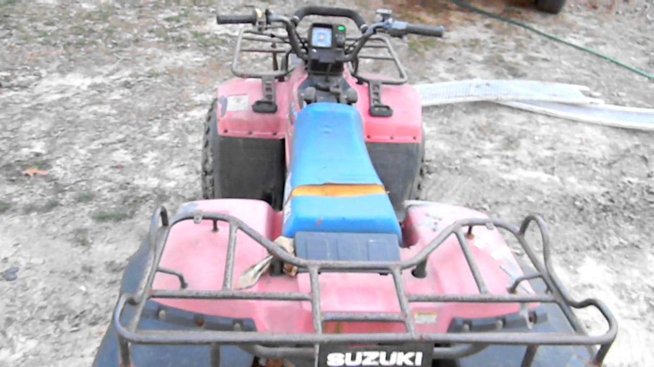 SUZUKI QUADRUNNER 250 4X4 1989 - YouTube