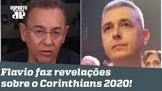 """""""Eu conversei com o Tiago Nunes, e olha..."""" Flavio Prado faz revelações sobre o Corinthians 2020!"""