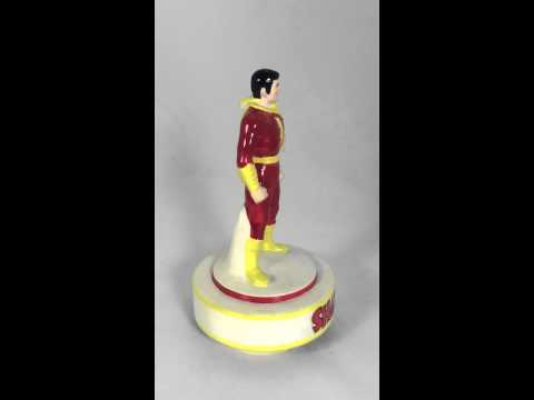 Shazam! Musical figurine, ceramic