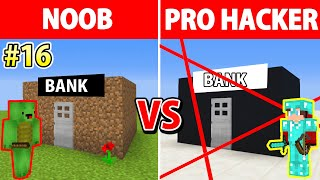 Minecraft NOOB VS PRO: Secure Bank Robbery / Animation EPISODE 16