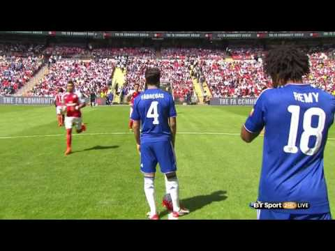 Arsenal Vs Chelsea Community Shield 2.8.2015 FULL MATCH