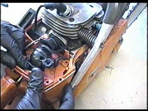 Craftsman Chainsaw Wiring Diagram Intake Boot Repair On Husqvarna 365 Chainsaw Youtube