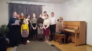 Германия. Семья Фиге в поддержку Архангельской церкви и семьи Степановых