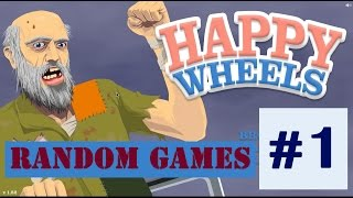 Ridiculous Awesome Games: Happy Wheels: Death Everywhere #1