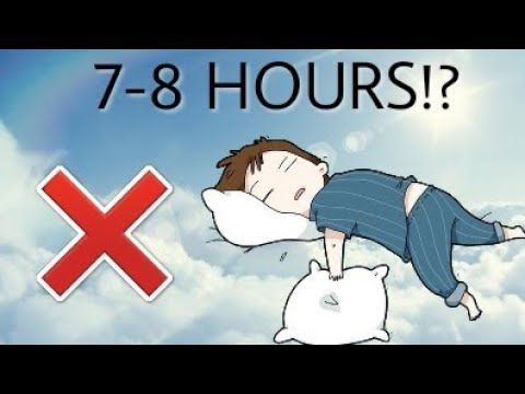 HOW MUCH SLEEP DO WE REALLY NEED? (New Study)
