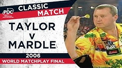 Taylor v Mardle - 2003 World Matchplay Final - Extended Highlights