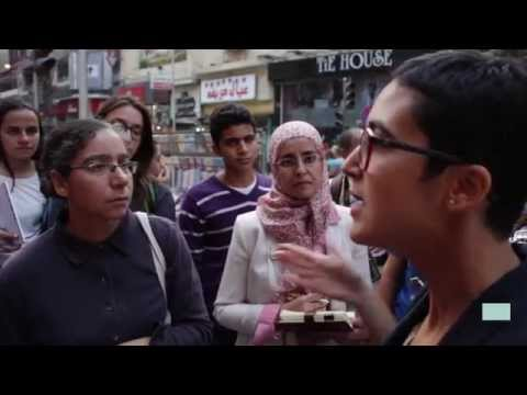 Downtown Cairo Cinematic Tour with Aida Elkashef