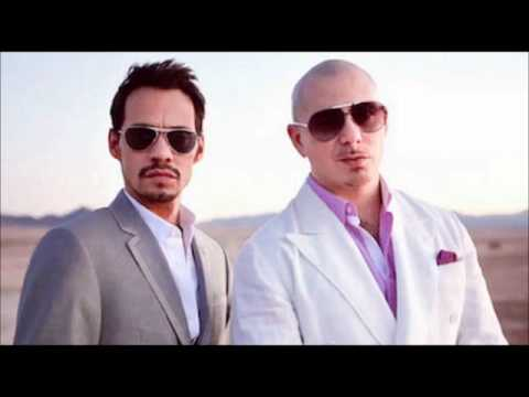 Pitbull ft. Marc Anthony - Rain Over Me (with lyrics)