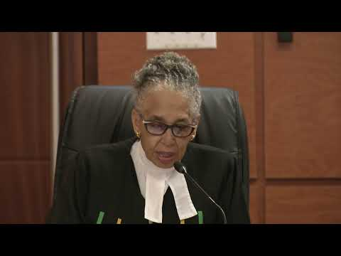 The Special Sitting of the Profession to mark the Retirement of Justice C. Dennis Morrison