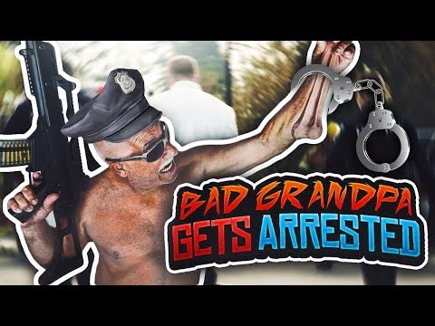 BAD GRANDPA GETS ARRESTED DOING EXTREME PUBLIC PRANKS!!! 👴🏼😂
