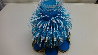 Recycled Projects for School - Fountain out of Plastic Bottles DIY Recycled Bottles Crafts