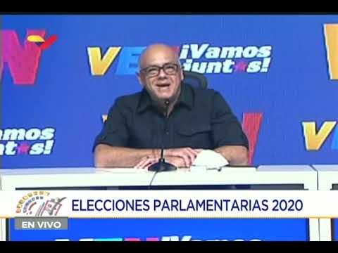 Jorge Rodríguez: A las 10 am casi el 100% de las mesas en las elecciones legislativas están abiertas