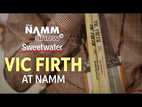 Vic Firth Drum Sticks at Winter NAMM 2018
