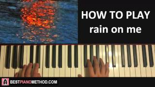 How To Play Joji Rain On Me Piano Tutorial Lesson
