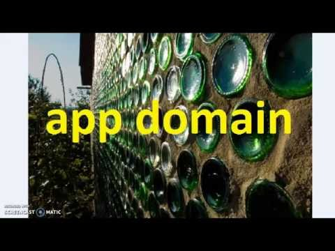ASP .NET - app domain