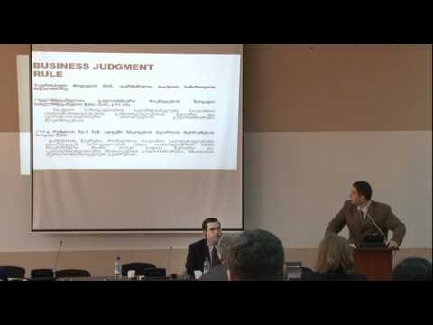 Fiduciary duties, duty of care, business judgment rule