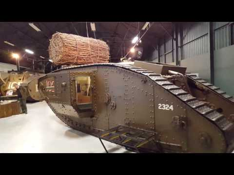 An Unofficial High Speed Tour of The Tank Museum Bovington (Part 1)