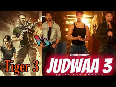 Tiger Zinda Hai 3 Movie Trailer Vs Judwaa 3 Movie Trailer  Salman Khan – Tiger Shroff  #RadheMovie  