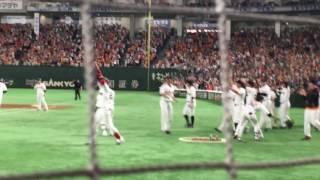 20176.18巨人対ロッテ亀井涙のサヨナラホームラン! thumbnail