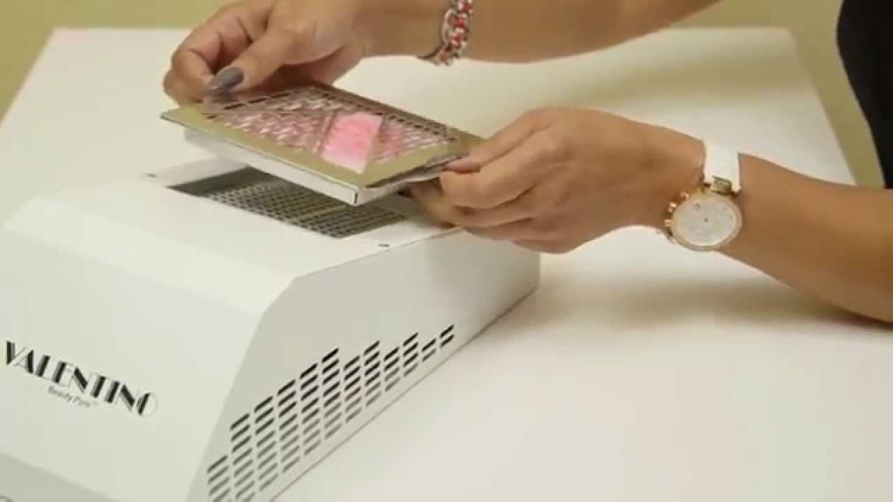 Valentino Beauty Pure Nail Dust Collector - YouTube