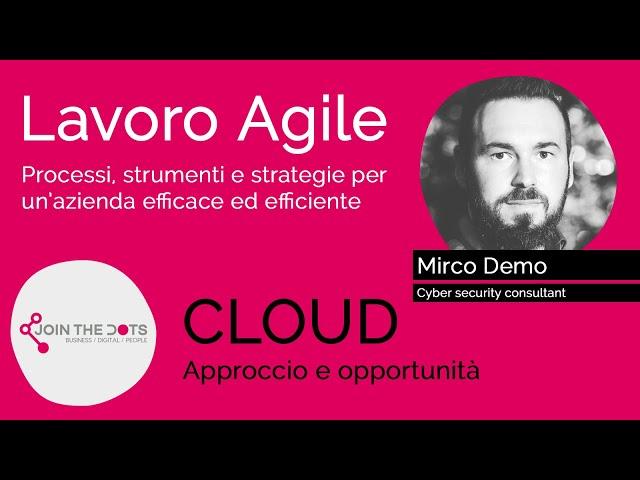Cloud, approccio e opportunità