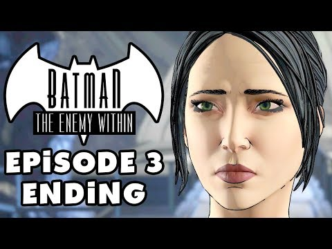 SELINA KYLE! - Batman: The Enemy Within - Episode 3: Fractured Mask - Gameplay Part 3 (Telltale)