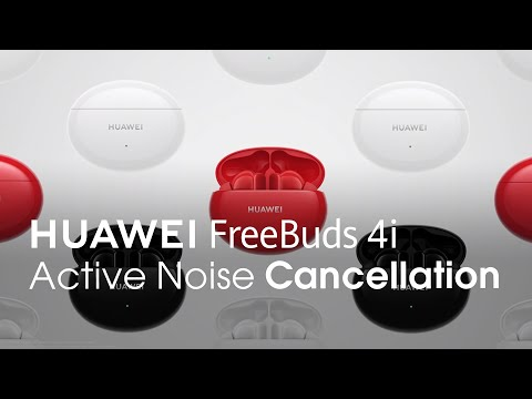 HUAWEI FreeBuds 4i – Active Noise Cancellation