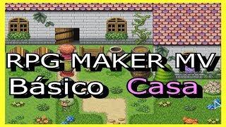 RPG Maker MV - Básico - COMO CONSTRUIR UMA CASA!