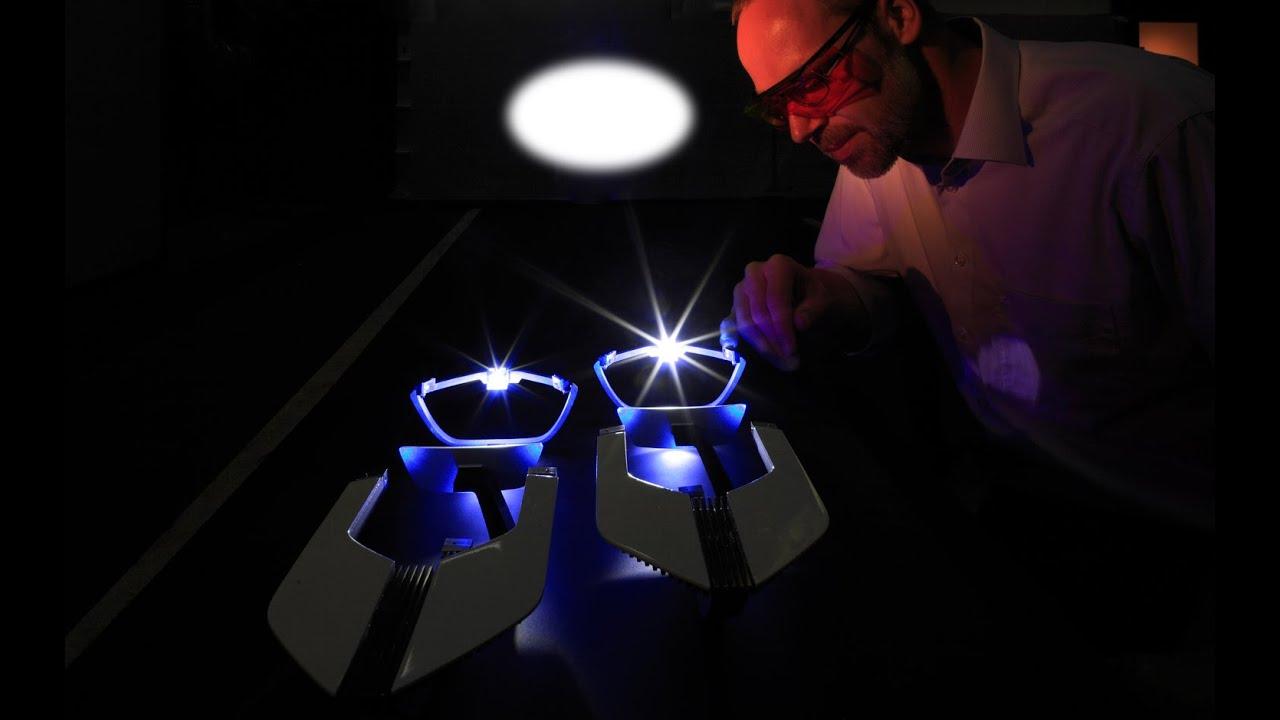 Как работают лазерные фары видео